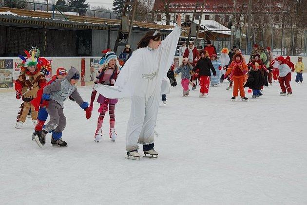Karneval na ledě si všichni užili