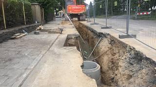 připojte městskou kanalizaci