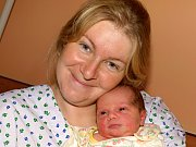 Eliška Krčmářová se narodila Pavlíně Hlinkové z Vlčí Hory 20.září v 7.15 v rumburské porodnici. Měřila 48 cm a vážila 3,6 kg.