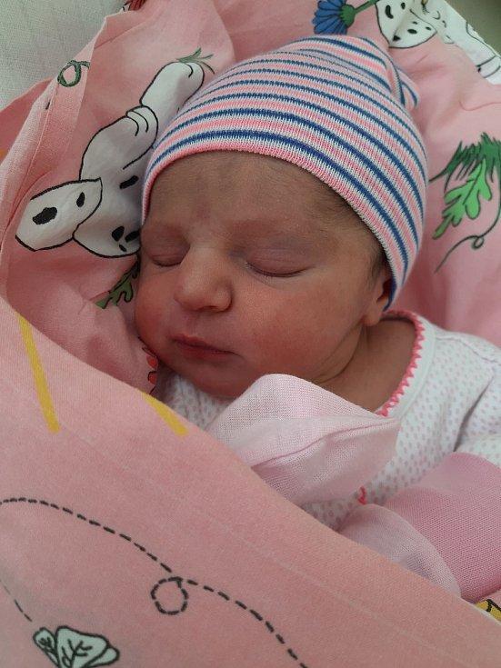 Elen Tumová se narodila mamince Petře Hájkové 14. února v 18.30 hodin. Měřila 51 cm a vážila 3,15 kilogramu.