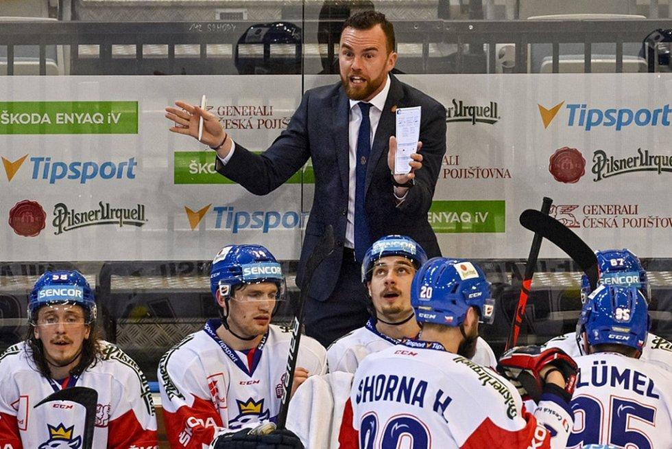 Filip Pešán, trenér české hokejové reprezentace, hrával před 20 lety v druholigovém Děčíně.