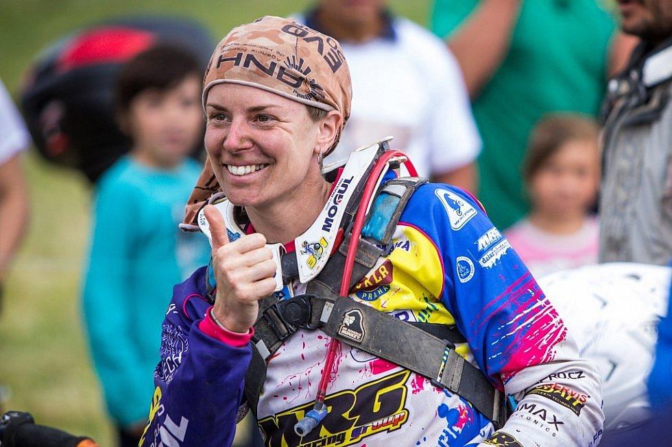 OLGA ROUČKOVÁ - rodačka z Děčína, která má za sebou dva úspěšné ročníky Rallye Dakar.