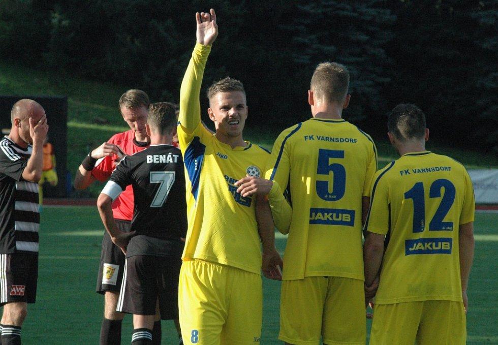 BRANKA NEPADLA. Varnsdorf doma remizoval 0:0 s Českými Budějovicemi.