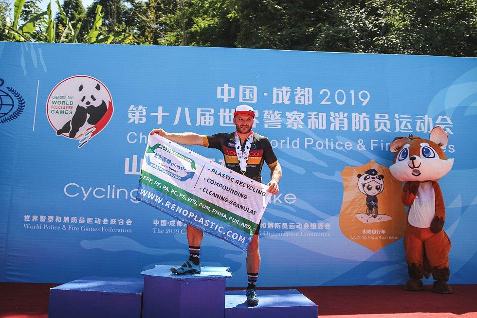 Světové hry policistů a hasičů v Číně.