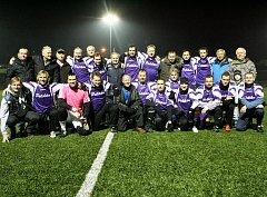 BÝVALÍ HRÁČI FK Pelikán Děčín sehrají tradiční přátelský zápas.
