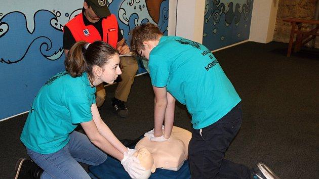 Školáci ze základních škol soutěžili v první pomoci