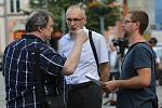 V Rumburku proběhla ve čtvrtek demonstrace za zachování Lužické nemocnice.