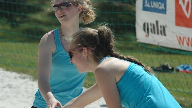 DĚČÍN hostil žákovskou kvalifikaci na MČR v beach volejbale.
