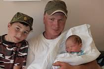 Blance Kalistové z Varnsdorfu se 22. května v 11.17 v rumburské porodnici narodil syn Ondra Kalista. Měřil 50 cm a vážil 3 kg.