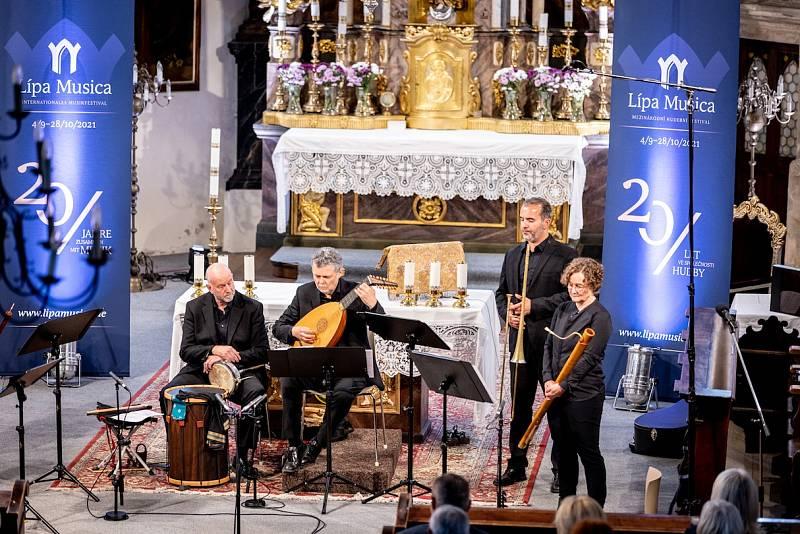 V kostele sv. Jakuba staršího v České Kamenici zazněl program s názvem Triumf pištců.