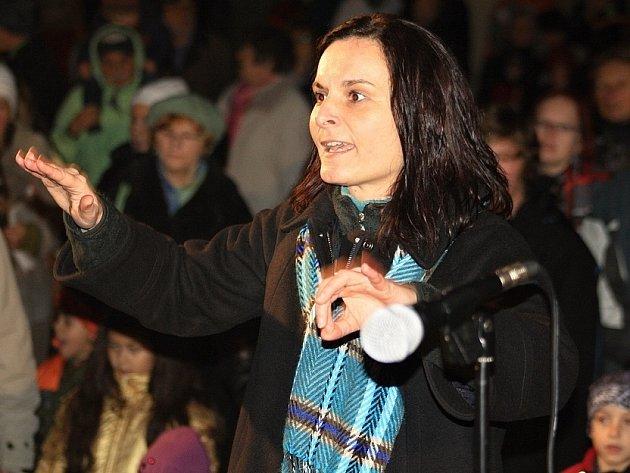Zpívání koled, Děčín, Husovo náměstí, 11.12.2013