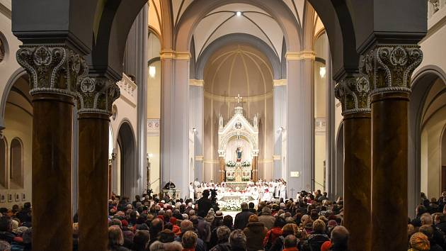MŠI celebroval litoměřický biskup Jan Baxant.