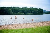 Olešský rybník.