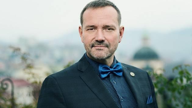 Primátor Děčína Jaroslav Hrouda.