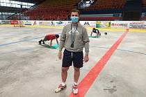 Nový trenér HC Děčín Michal Oliverius.