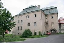 ZÁMEK v České Kamenici.