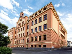 Základní škola v Krásné Lípě.