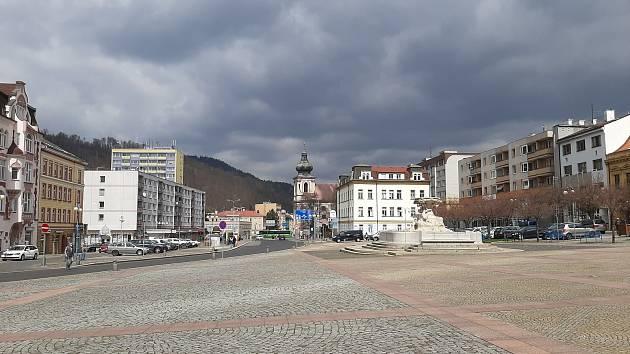 Masarykovo náměstí v Děčíně.