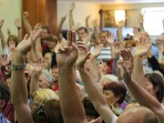 Hlasování, ilustrační foto.