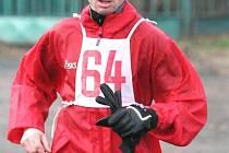 """Nejlepším """"domácím"""" běžcem 10. ročníku Děčínského běžeckého poháru se stal Jaroslav Hauzírek z ASK Děčín. V běhu na Sněžník, ze kterého je náš snímek, skončil sedmý, v celkovém  pohárovém pořadí mu nakonec patří krásná druhá pozice."""