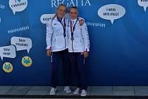 ADÉLA HÁZOVÁ (vpravo) vybojovala tři medaile.
