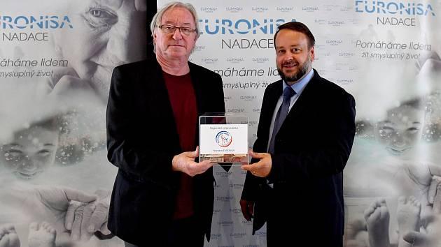 Patronem sbírky Nadace Euronisa je Jiří Lábus.