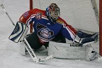 ŠKODA. Děčínští hokejisté (v tmavém) prohráli 1:2 v Jablonci.
