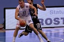 ROBERT LANDA, pivot BK Děčín, nastřílel v dresu Válečníků přes 1000 bodů.