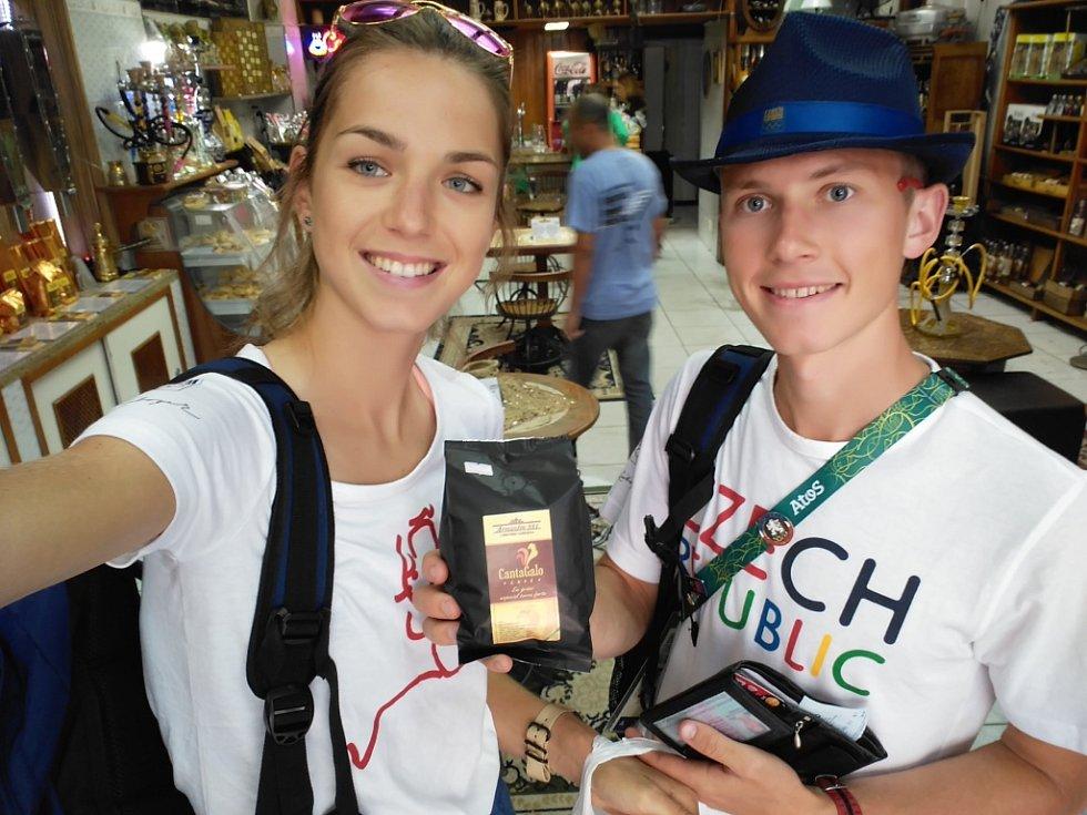 DRUHÝ A TŘETÍ DEN. Anežka Drahotová a její zážitky z brazilského Ria, kde se konají LOH.