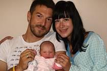 Andree Bartůňkové z Jiříkova se 1. září v 10.55 v rumburské porodnici narodila dcera Gabriela Bartůňková. Měřila 49 cm a vážila 2,96 kg.