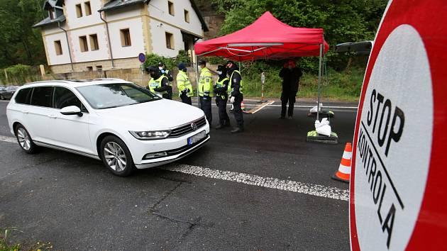 V pondělí 11. května se otevřel hraniční přechod ve Hřensku