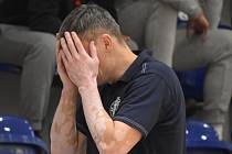 Zklamaný kouč děčínských basketbalistů Tomáš Grepl.