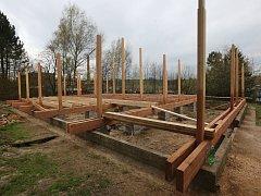 Výstavba vzdělávacího střediska, které bude určené pro děti.