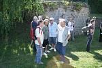 Na protest proti výstavbě plavebního stupně Děčín uspořádalo v úterý ekologické sdružení Arnika ve spolupráci s německou iniciativou Flussschwimmen plavbu několika odvážlivců z Děčína až do německých Drážďan.