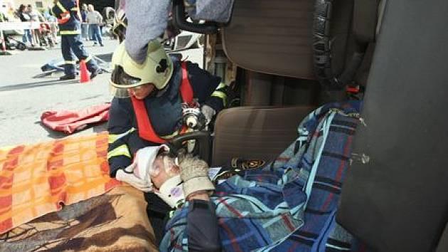 V prověrce připravenosti záchranáři obstáli