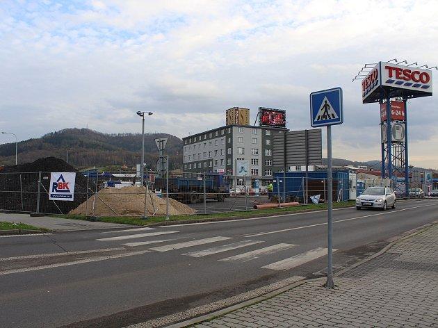 KFC bude v Děčíně u obchodního domu Tesco.