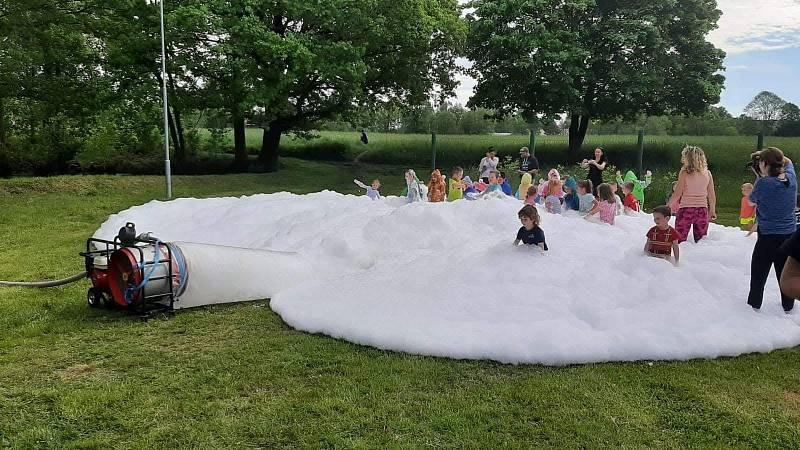 Hasiči z Krásné Lípy uspořádali dětský den