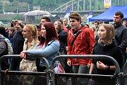 Vrcholem sobotní části slavností byl Festival Labe s Ewou Farnou, Prague Conspiracy a Mig 21.