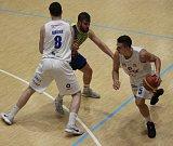 PRVNÍ POHÁROVÉ DERBY. Basketbalisté Děčína doma hráli proti Ústí nad Labem.