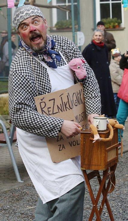 Děčín se bavil tradičním masopustem.