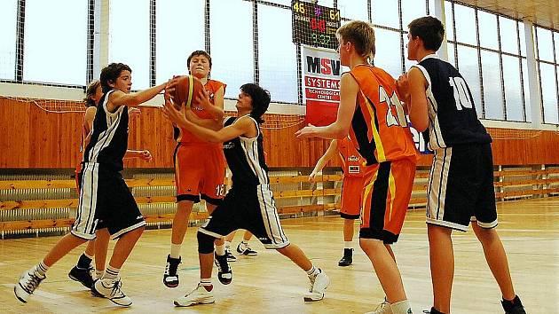 V Liberci děčínský tým U14 vyhrál.