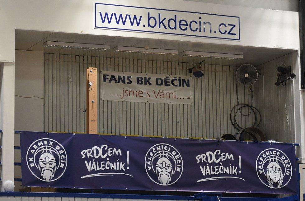 Děčín zvládl derby, doma porazil Ústí nad Labem 88:87.