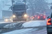 Dopravní kolaps. Ilustrační foto.