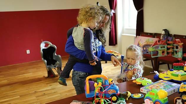 V Rumburku se o víkendu konala dětská burza.