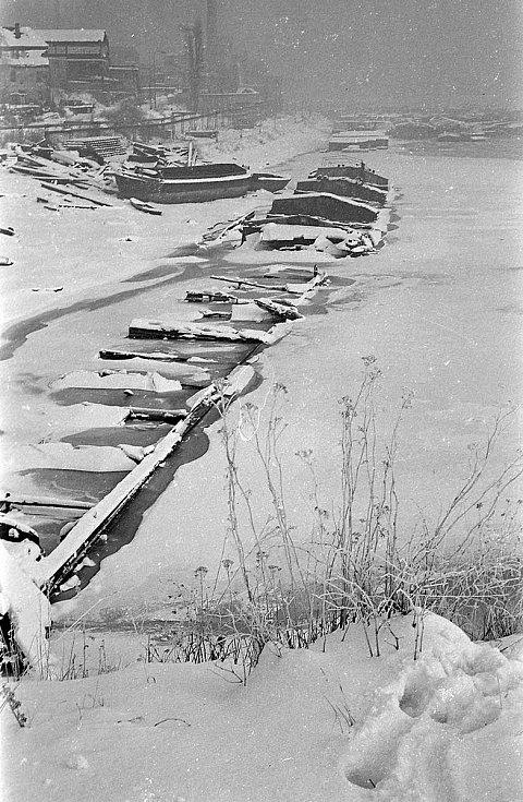 Zimní přístav v Rozbělesích