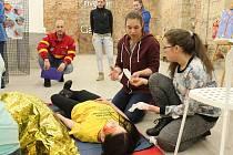 Děčínské Centrum Pivovar hostilo soutěž mladých zdravotníků.