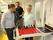 Miroslav Dolejš poprvé překročil brány továrny na obráběcí nástroje před 70 lety.