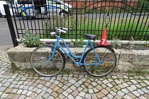 Nehoda auta a cyklisty ve Varnsdorfu.