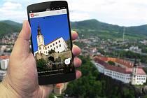 Mobilní aplikace města Děčín.