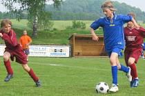 Okresní kolo Mc Donlad cucpu ve fotbale žáků základních škol v Markvarticích